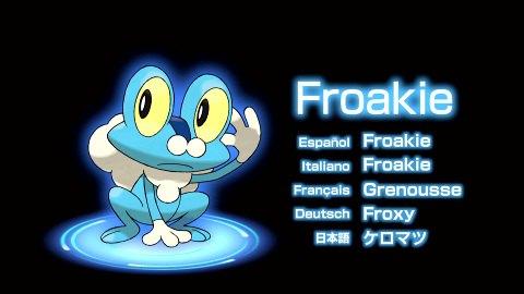 Froakie - Water-type starter from Pokemon X&Y
