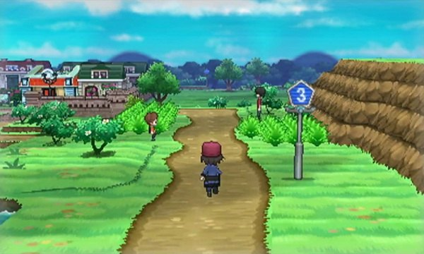 A Route in Pokemon X&Y