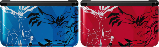 Pokemon X and Y themed Nintendo 3DS