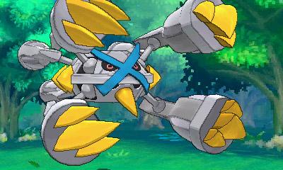 Shiny Mega Metagross