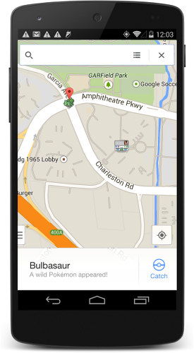 Google Maps adds ability to capture Pokémon