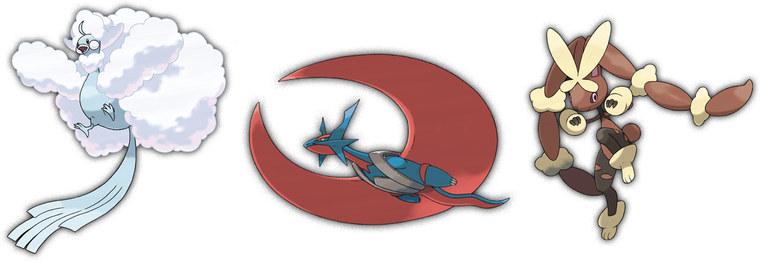 New Mega Evolutions For Omega Ruby Alpha Sapphire Revealed