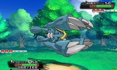 Mega Metagross in-game
