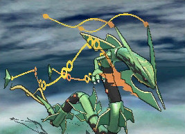 Mega Rayquaza in-game screenshot