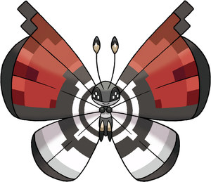 Poke Ball Pattern Vivillon