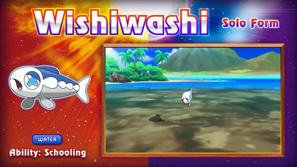 Wishiwashi Solo Form