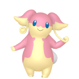 Audino  sprite from Home