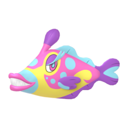 Bruxish  sprite from Home