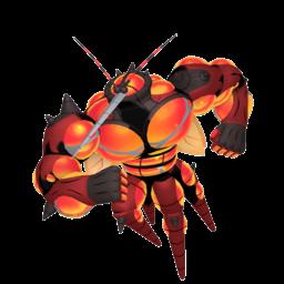 Buzzwole  sprite from Home