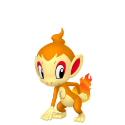 Chimchar  sprite from Home