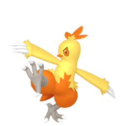 Combusken  sprite from Home