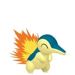 Cyndaquil  sprite from Home