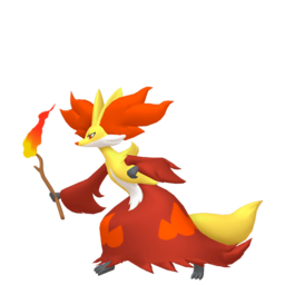 Delphox  sprite from Home