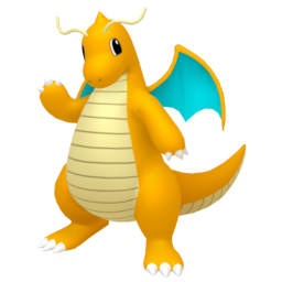 Dragonite  sprite from Home