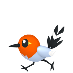 Fletchling  sprite from Home