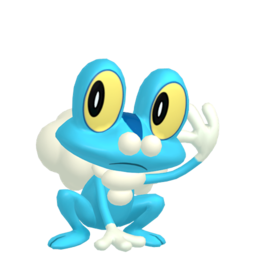 Froakie  sprite from Home