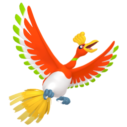 Ho-oh  sprite from Home