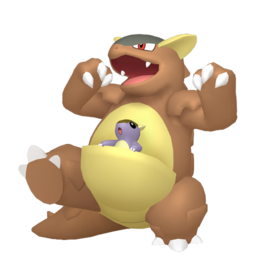 Kangaskhan  sprite from Home