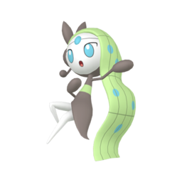 Meloetta  sprite from Home