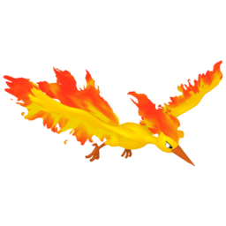 Moltres  sprite from Home
