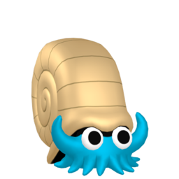 Omanyte  sprite from Home