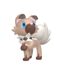 Rockruff  sprite from Home