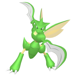 Scyther  sprite from Home