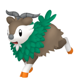 Skiddo  sprite from Home