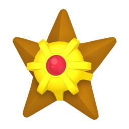 Staryu  sprite from Home