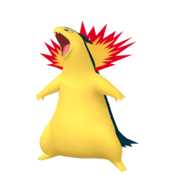 Typhlosion  sprite from Home