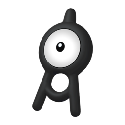 Unown  sprite from Home