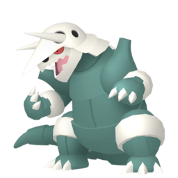 Aggron Shiny sprite from Home