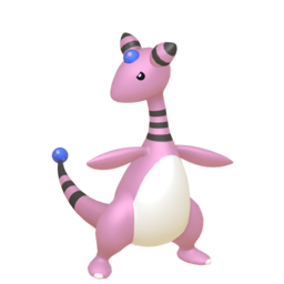 Ampharos Shiny sprite from Home