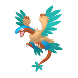 Archeops Shiny sprite from Home