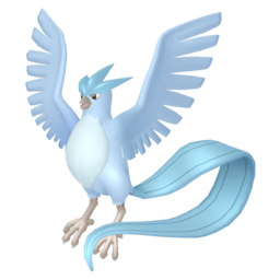 Articuno Shiny sprite from Home