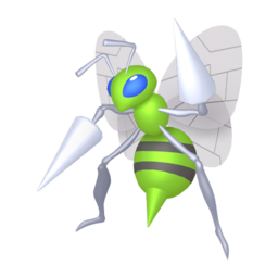 Beedrill Shiny sprite from Home