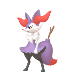 Braixen Shiny sprite from Home