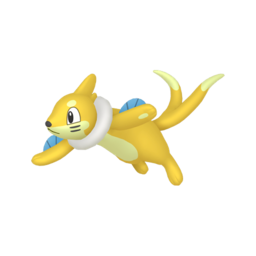 Buizel Shiny sprite from Home