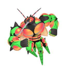 Buzzwole Shiny sprite from Home
