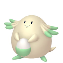 Chansey Shiny sprite from Home