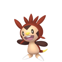 Chespin Shiny sprite from Home