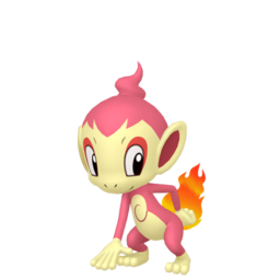 Chimchar Shiny sprite from Home