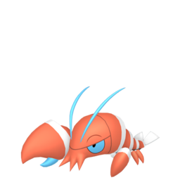 Clauncher Shiny sprite from Home