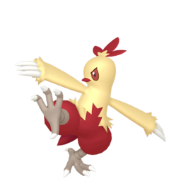 Combusken Shiny sprite from Home