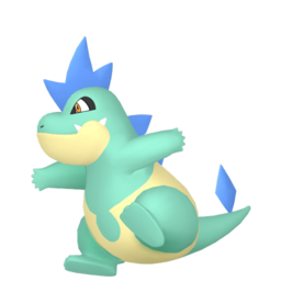 Croconaw Shiny sprite from Home