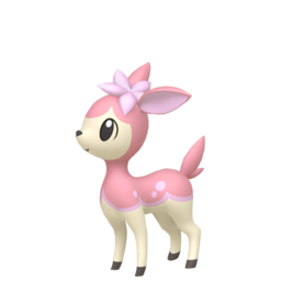 Deerling Shiny sprite from Home