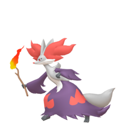 Delphox Shiny sprite from Home