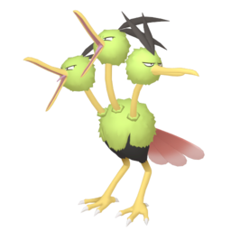 Dodrio Shiny sprite from Home