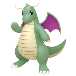Dragonite Shiny sprite from Home