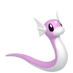 Dratini Shiny sprite from Home